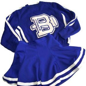 Vintage 1950s/60's Cheerleader Uniform Sweater